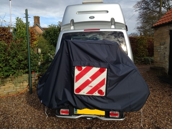 Electric Bike Review >> Motorhome 2 Bike Waterproof Cover with Zips and Webbings