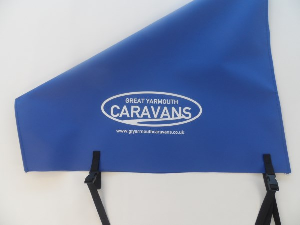 Printed Caravan Tow Hitch Covers