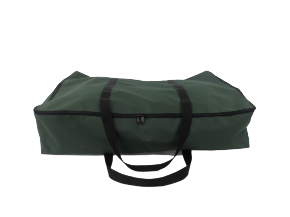 small zip awning bag green