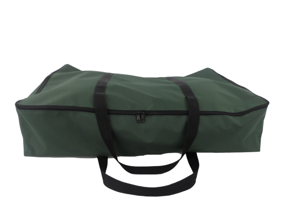 zip small awning bag green