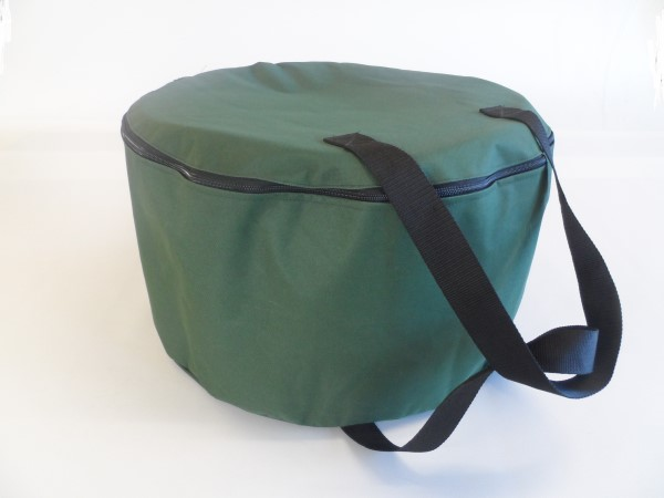 round barbeque bag