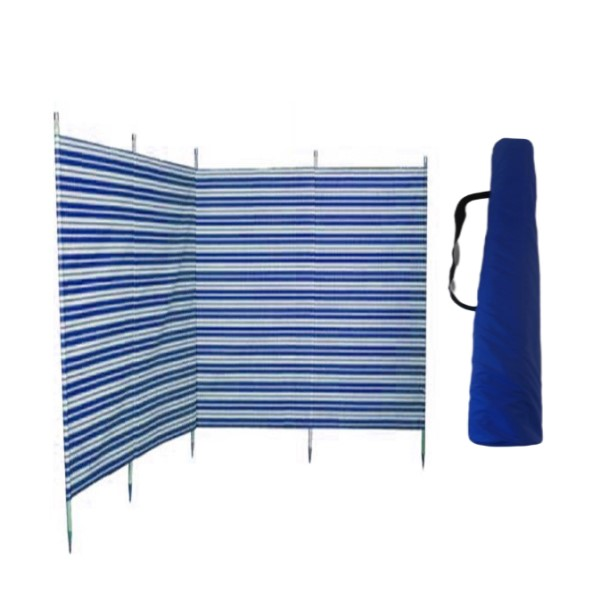 double windbreak bag blue