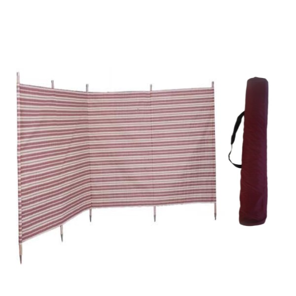 double windbreak bag burgundy