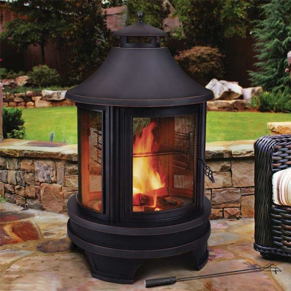 Outdoor Log Burner Fire Pit Cover Fits Northwest Fire Pit