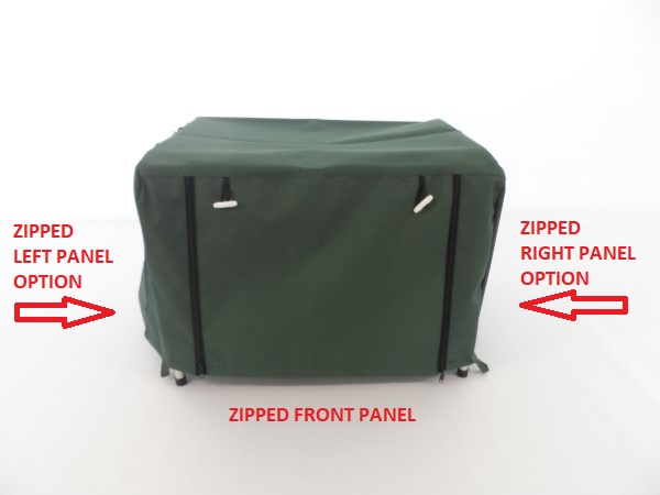 Generator zipped panels