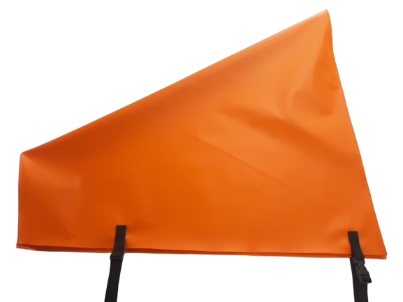 pvc hitch cover orange