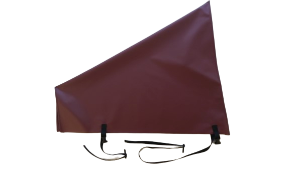 pvc hitch cover burgundy