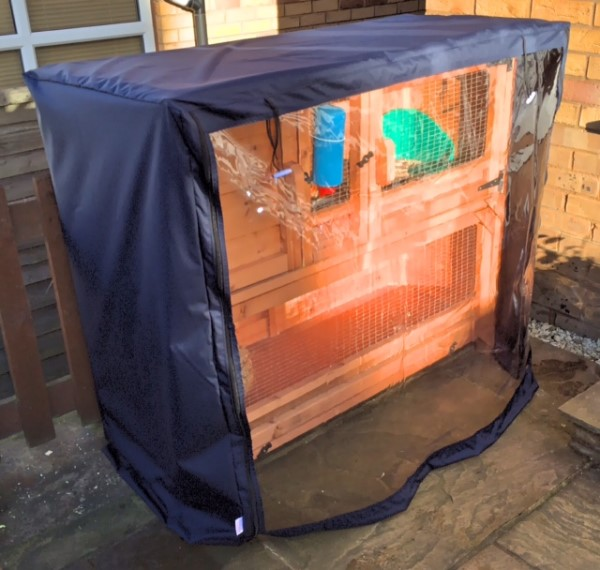 Rabbit Hutch Covers Made To Measure