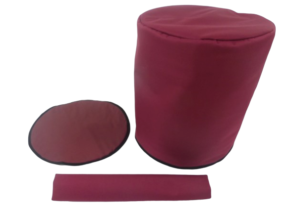 insulated cover burgundy