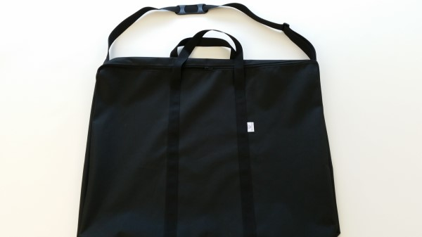 large zipped bag