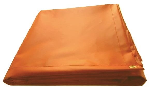 tarpaulin covers orange