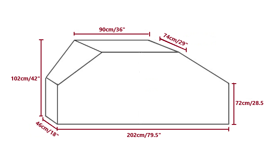 standard bike cover sizes