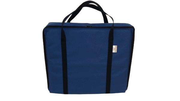 tv bag with base blue A