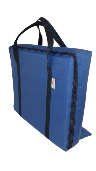 tv bag with base blue B