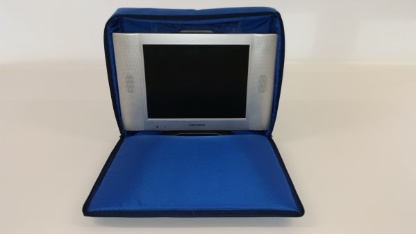 tv bag blue