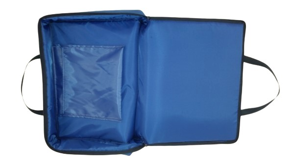 tv bag with base blue F