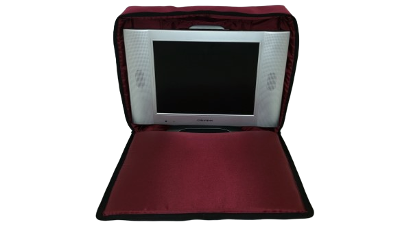 tv bag with base burgundy E