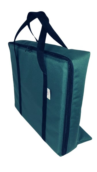 TV Bag with base B Green
