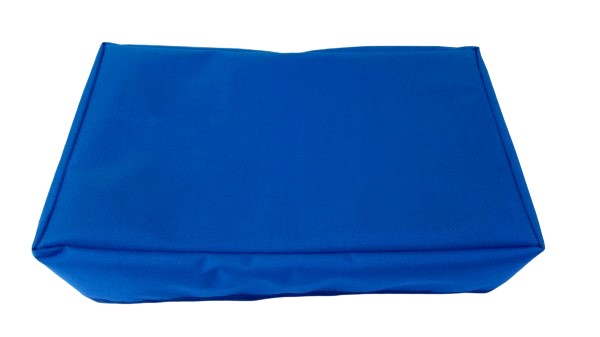 wall mounted tv cover blue
