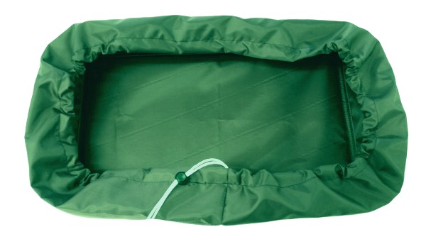 wall mounted tv cover green