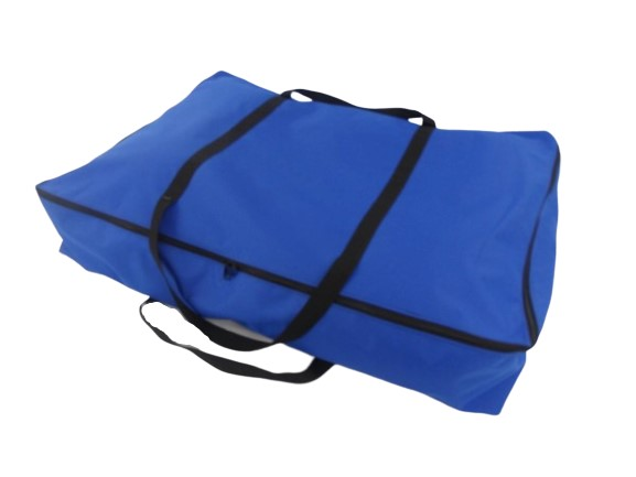 zip large awning bag blue