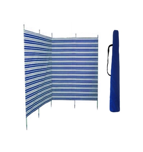 windbreak and bag blue