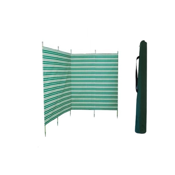 windbreak and bag green